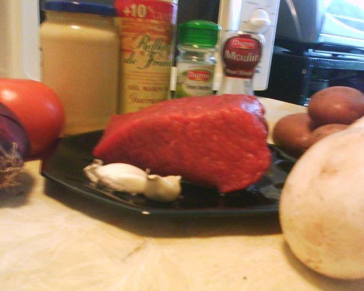 Roti de boeuf et son accompagnement de l gumes j - Cuisiner un roti de boeuf ...